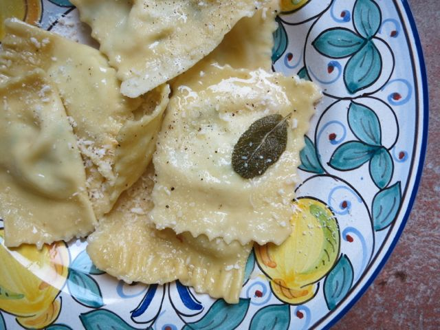 Borage and Ricotta Ravioli www.elizabethminchilliinrome.com - 7